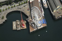 Photography Services - Aerial of Ferris Wheel