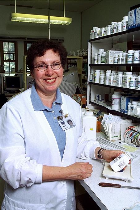 Pharmacist Location Portrait