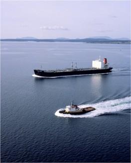 Oil Tanker & Tug Escort