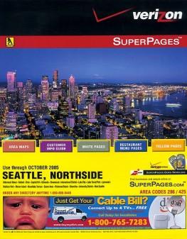 Verizon Phone Book/Stock Photo