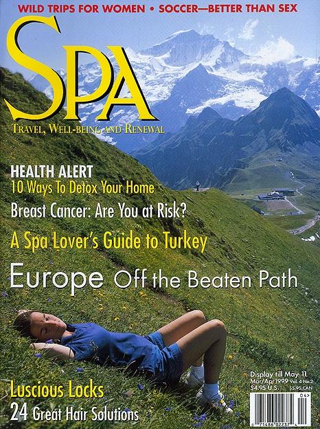 Magazine Cover – Swiss Stock Photo