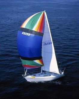 Sailboat on Puget Sound WA