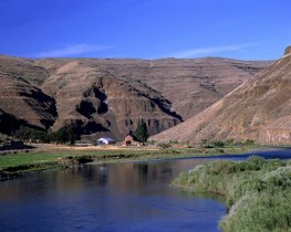 Ranch on the John Day River