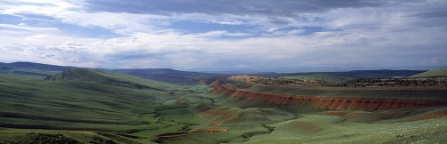 Red Canyon National Natural Landmark, Fremont County, Wyoming