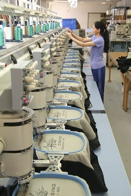 Polar Graphics Tee-Shirt Embroidery Production