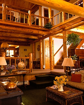 Log Home — Big Horn Wyoming