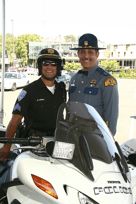 Two Brothers in the Law Enforcement Profession