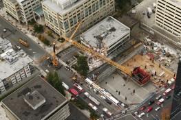 Construction Crane Collapse