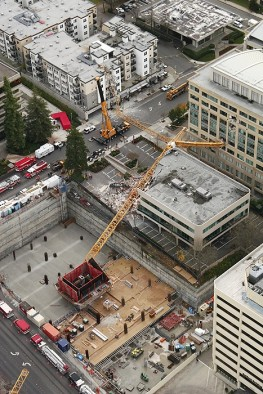 Construction Crane Collapse