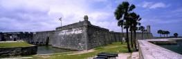 The Castillo de San Marco, St. Augustine, Florida