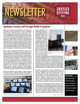Justice Systems Corporation Newsletter