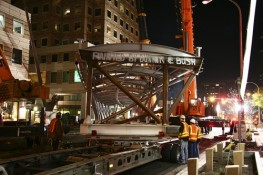 Offloading a Skybridge Section