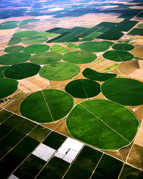 Circle Irrigation, Grant County, WA