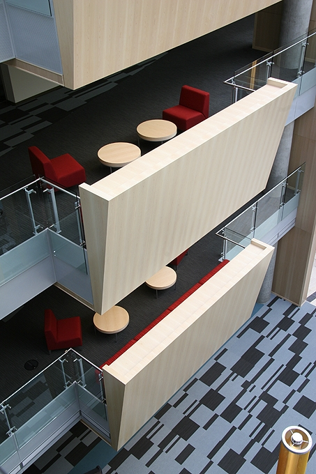 Office Building Interior Detail