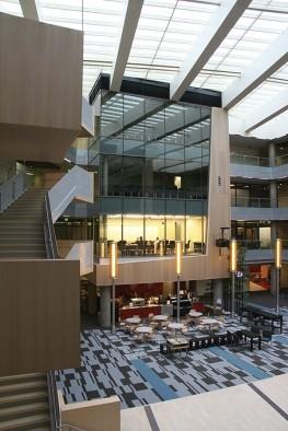 Office Building Atrium Common Area