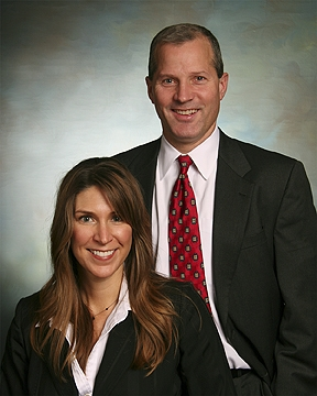 Husband and Wife Business Portrait