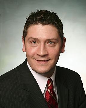 Stock Broker Head Shot Portrait