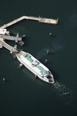 Washington State Ferry at the Vashon Island Dock