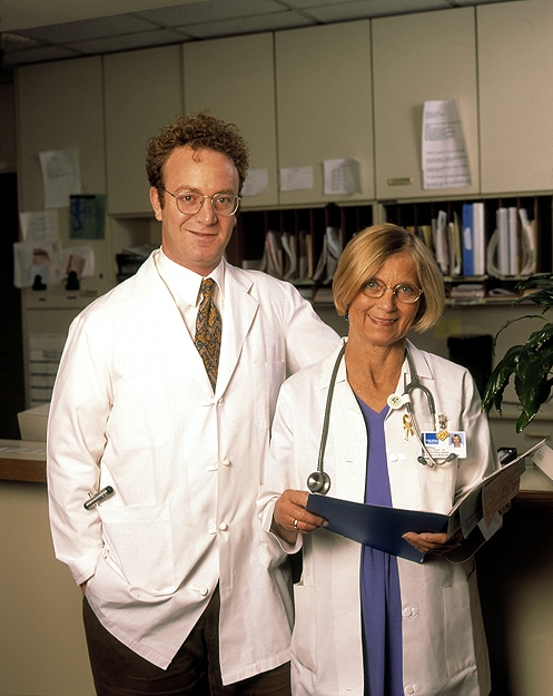 Portrait of Two Medical Professionals