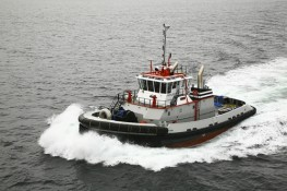 "Tugboat ""TP3"" Sea Trials"
