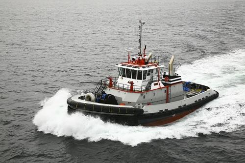 """Tugboat """"TP3"""" Sea Trials"""
