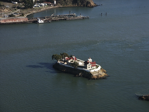 East Brother Light House, San Francisco Bay, CA