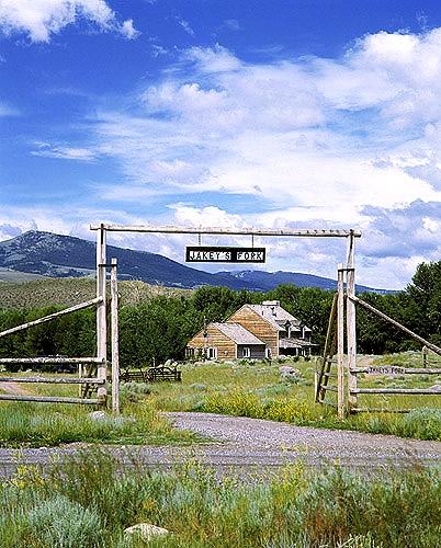 Jakey's Fork  B & B Ranchhouse, DuBois, Wyoming