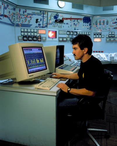 Industrial Control Room