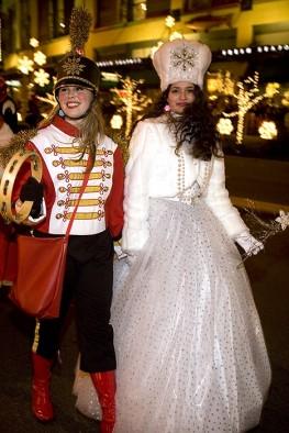 Drummer Girl & Snow Princess