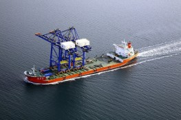 "ZMPC Ship ""Zhen Hua 26"" with 2 Gantry Cranes"