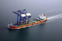 "ZMPC Ship ""Zhen Hua 26"" with 2 Gantry Cranes"