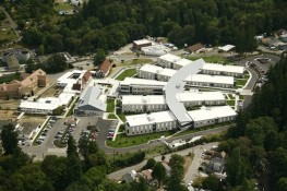 Buildings at the VA Hospital, Retsil, WA