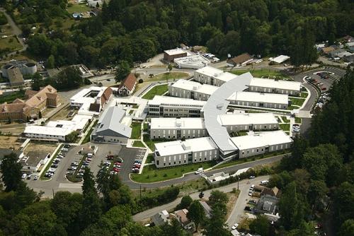 Buildings at the VA Hospital, Retsil, WA