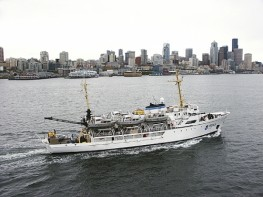 "NOAA Research Vessel ""Rainier"""