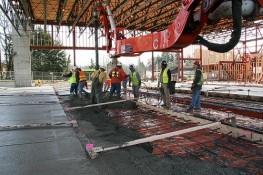 Concrete Pour/HQ Fire Station, Kenmore, WA