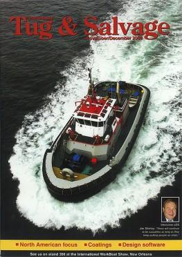 "Tugboat ""TP3"" Magazine Cover"