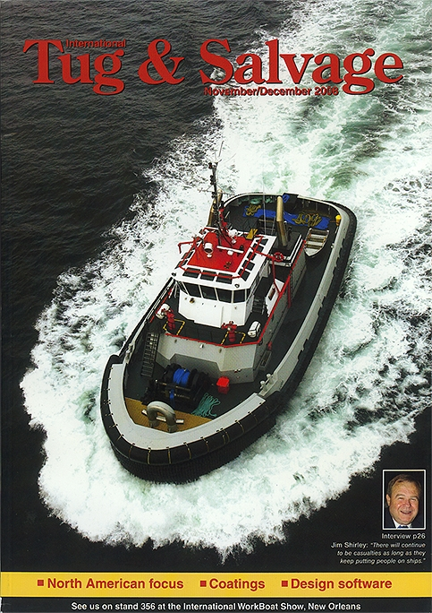 "Tugboat ""TP3"" Magazine Cover"