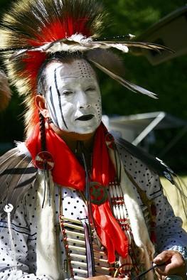 Native American Man in his Regalia