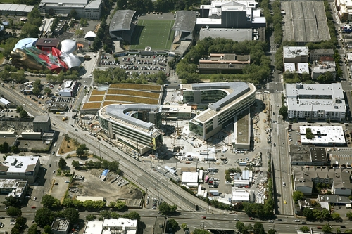 Aerial Photo of the Gates Foundation