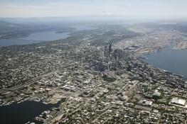 Seattle WA and South Lake Union