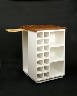 Kitchen Island / Wine Storage Rack