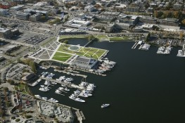 South Lake Union Park Aerial View