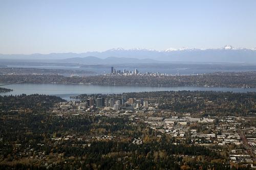 Bellevue WA  Aerial Photography