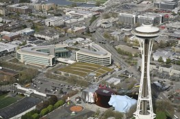 The Gates Foundation & the Space Needle -- Seattle WA
