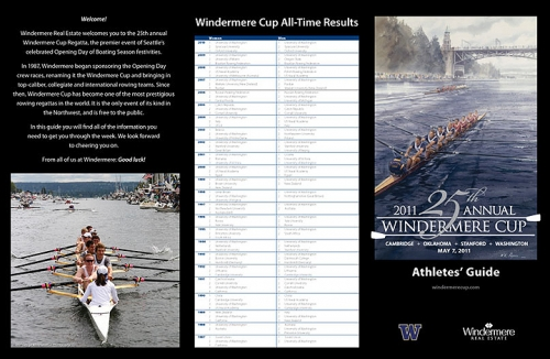 2011 Opening Day Regatta Athlete's Guide