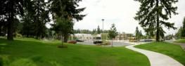 Panorama of Ardmore Elementary School, Bellevue WA