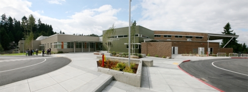Version 2 Panorama of Ardmore Elementary School, Bellevue WA