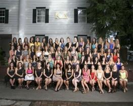 UW Kappa Delta Sorority Group Portraiture