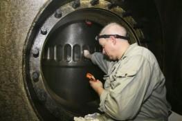 Technical Scavenge Port Inspection