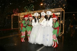 Snow Princesses & Their Court at Snowflake Lane
